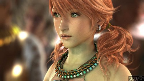 Final Fantasy XIII Progress Reports Ff13-promo-red_pigtail_girl